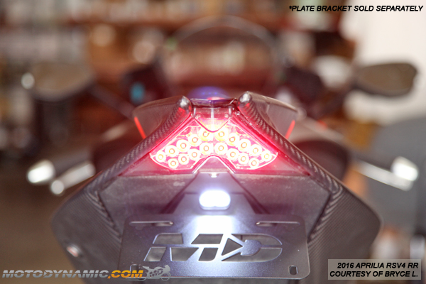 Led Tail Light Int.Turn Signals APRILIA 09-19 RSV4 RS125;TUONO V4 RS4 125