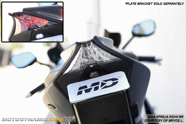 APRILIA RSV4 FACTORY 2012 LED REAR LIGHT WITH BUILT IN INDICATORS