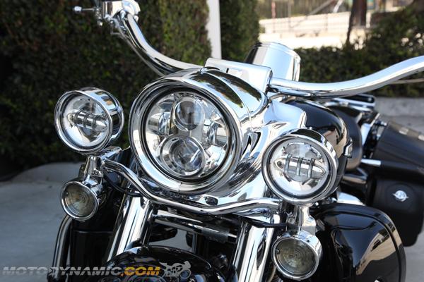 7 u0026quot  led headlight head light chrome for harley davidson