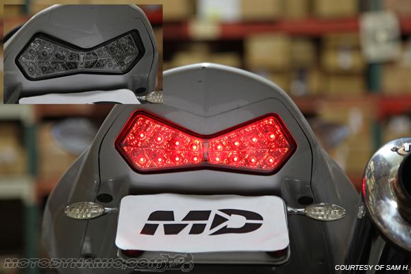 03 06 Kawasaki Z1000 03 04 Ninja Zx6r Integrated Signal