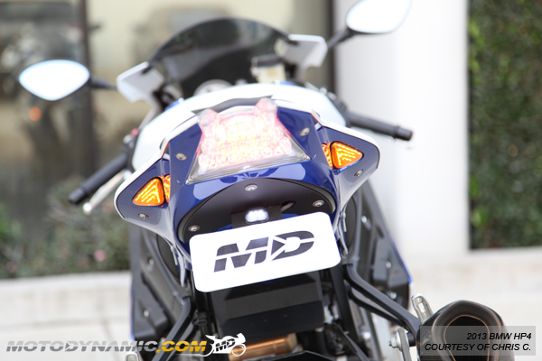 12 14 Bmw S1000rr Hp4 Rear Vent Tail Section Led Turn