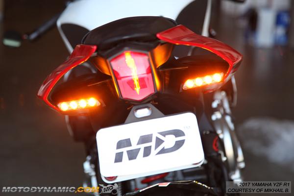 /2008 LED intermitente Rel/é Yamaha YZF R1/RN19/2007/