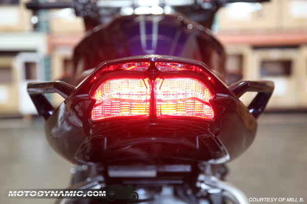 2006 2012 yamaha fz1 fz8 sequential signal led tail light. Black Bedroom Furniture Sets. Home Design Ideas