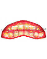 2014 2015 2016 2017 2018 2019 2020 2021 Ducati Monster 821 1200 1200S 1200R Supersport Integrated Sequential LED Tail Light Smoke