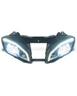 2008-2016 Yamaha YZF R6 Full LED Projection Head Light Assembly with DRL