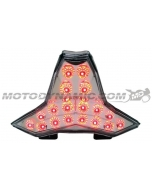 2014 2015 2016 2017 2018 2019 2020 Kawasaki Z1000 Ninja ZX-10R ZX10R ZX10RR Sequential LED Tail Lights Clear