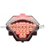 2015 2016 2017 2018 2019 2020 Yamaha YZF R3 Sequential Integrated LED Tail Lights Clear