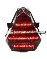 2008-2014 Yamaha YZF R6 Sequential LED Tail Lights Smoke