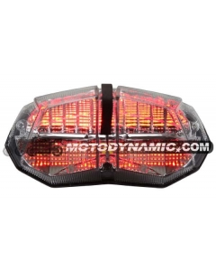 2009-2014 Ducati Streetfighter Sequential LED Tail Lights Clear