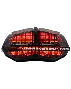 2009-2014 Ducati Streetfighter Sequential LED Tail Lights Smoke