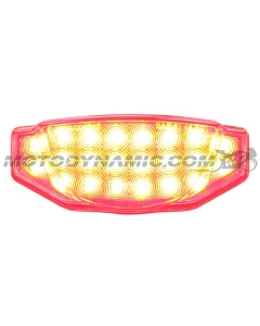 2015 2016 2017 2018 2019 2020 2021 Ducati Scrambler Integrated Sequential LED Tail Light Clear