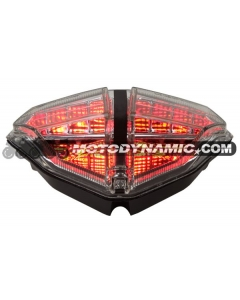 2007-2013 Ducati 848/1098/1198 Sequential LED Tail Lights Clear