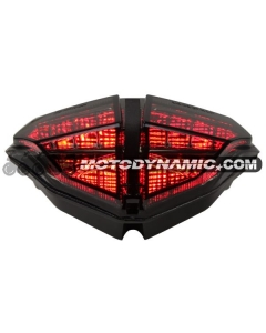 2007-2013 Ducati 848/1098/1198 Sequential LED Tail Lights Smoke