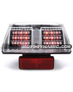 94-04 Ducati 748/916/996/998 Sequential LED Tail Lights Clear