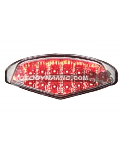 2009-2014 Ducati Monster 696/796/1100 Sequential LED Tail Lights Clear