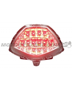 2011 2012 2013 Honda CBR250R CBR 250R 2015 2016 2017 2018 2019 2020 CBR300R CBR-300R CB300F LED Tail Light Sequential Clear