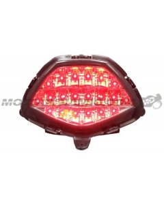 2011 2012 2013 Honda CBR250R CBR 250R 2015 2016 2017 2018 2019 2020 CBR300R CBR-300R CB300F LED Tail Light Sequential Smoke