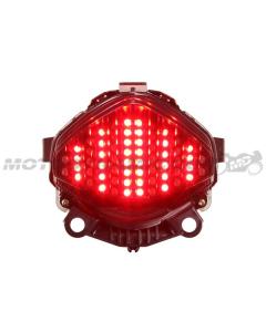 2013-2015 Honda CBR500R/CB500X/CB500F Sequential LED Tail Lights Smoke