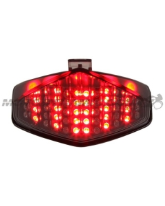 2011-2016 Honda CB1000R Sequential LED Tail Lights Smoked