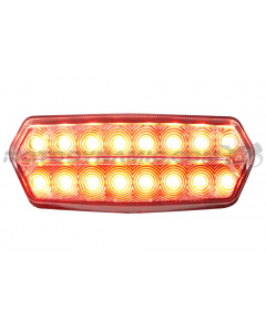 2022+ Honda Grom MSX125 Sequential LED Tail Lights Clear V2