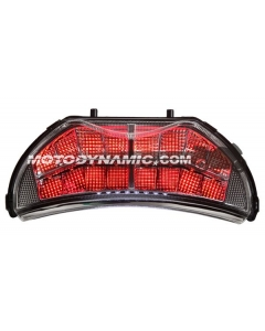 1999-2000 Honda CBR-600 F4 / 2004-2006 CBR-600 F4i Sequential LED Tail Lights Clear