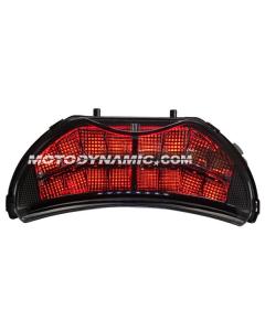 1999-2000 Honda CBR-600 F4 / 2004-2006 CBR-600 F4i Sequential LED Tail Lights Smoke