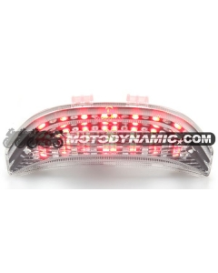 03-06 Honda CBR-600RR / 04-07 CBR-1000RR Sequential LED Tail Lights Clear