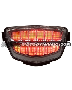 2008-2014 Honda CBR-1000RR Sequential LED Tail Lights Clear