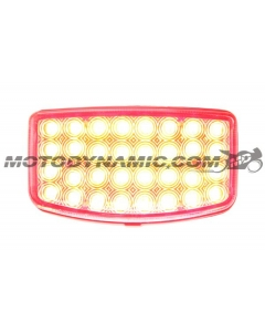 2003-2020 Honda Ruckus NPS50 LED Tail Lights with Integrated Alternating Sequential LED Signals in Clear Lens