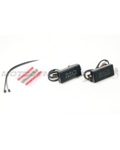 Motodynamic Intelliflash Blinker Flasher Module Running Light and Turn Signals Motorcycles 3-to-2 wire conversion