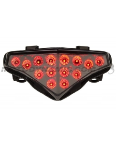 2012-2014 Kawasaki Ninja 650/ER-6n Sequential LED Tail Lights Smoke