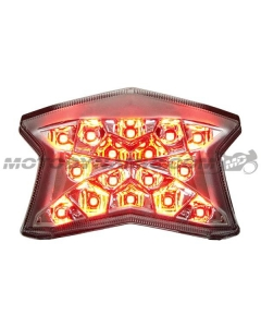 2017 2018 2019 Ninja 650 Z650 2020 2021 Z900 Z H2 LED Tail light Integrated Sequential Clear