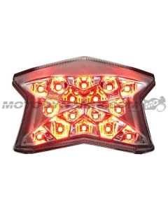 2020-2021 Ninja 650 Z650 LED Tail light Integrated Sequential Clear