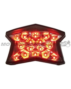 2017 2018 2019 Ninja 650 Z650 2020 2021 Z900 Z H2 LED Tail light Integrated Sequential Smoked