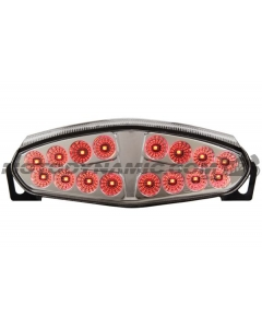 2009-2011 Kawasaki Ninja 650R/ER-6n Sequential LED Tail Lights Clear