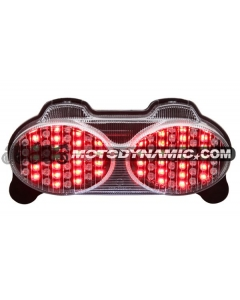 98-05 Kawasaki Ninja ZR7(S)/ZX-6R/9R/ZZR600 Sequential LED Tail Lights Clear