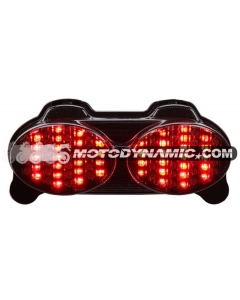 98-05 Kawasaki Ninja ZR7(S)/ZX-6R/9R/ZZR600 Sequential LED Tail Lights Smoke