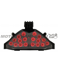 2007-2009 Suzuki Bandit GSF1250S/GSX650F/GSX1250FA Sequential LED Tail Light Smoke
