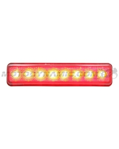 Universal 12V Sequential Integrated Turn Signal LED Tail Light Smoke Lens