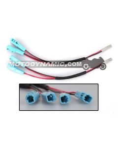 Honda Rear Turn Signal Splitter Y-Adapter Harness 2 Wire CBR600RR/CBR1000RR - PAIR