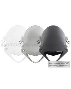 Motodynamic Race Series Windscreens - BMW S1000RR 2010-2014 Clear Light Smoke Black