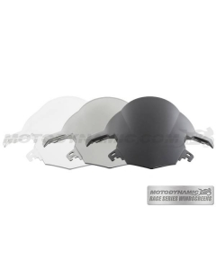 Motodynamic Race Series Windscreens - BMW S1000RR 2015-2018 Clear Light Smoke Black