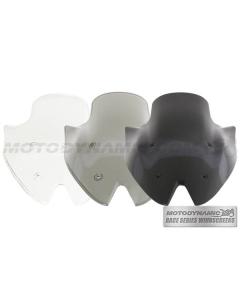 Motodynamic Race Series Windscreens - Kawasaki Z1000 2010-2013 Clear Light Smoke Black