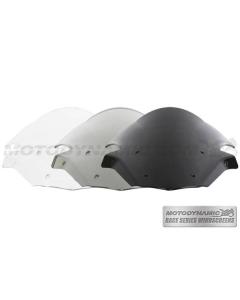 Motodynamic Race Series Windscreens - Kawasaki Ninja ZX-10R 2011-2015 Clear Light Smoke Black