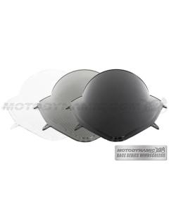 Motodynamic Race Series Windscreens - Kawasaki Ninja 250R 2008-2012 Clear Light Smoke Black