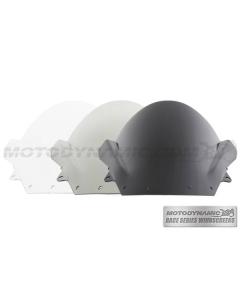 Motodynamic Race Series Windscreens - Kawasaki Ninja ZX-6R 2009-2012 ZX-10R 2008-2010 Clear Light Smoke Black