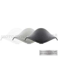 Motodynamic Race Series Windscreens - Suzuki GSX1300R Hayabusa 2008-2017 Clear Light Smoke Black