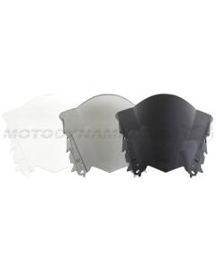 Motodynamic Race Series Windscreens -  Yamaha R3 2015-2018 Clear Light Smoked Black