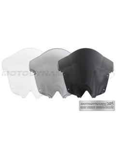 Motodynamic Race Series Windscreens - Yamaha R6 2008-2016 Clear Light Smoke Black